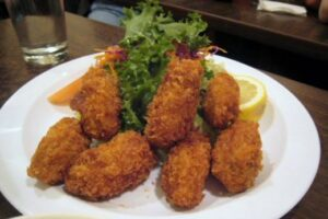 Oyster Folly Flitters –  Oyster Fritters