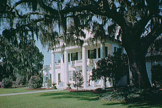 Photograph of Orton Plantation in Southport NC
