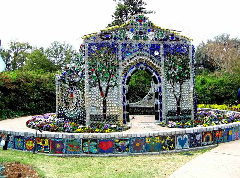 Airlie Gardens Bottle Chapel Minnie Evans