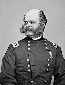 General Ambrose Burnside T he Battle of Roanoke Island