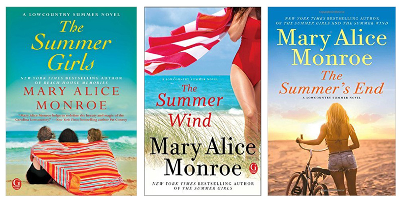 Lowcountry Series book covers