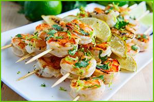 Recipe for lime-marinated-shrimp-kabobs