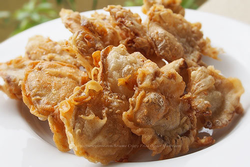 Recipe for Oven Fried Oysters