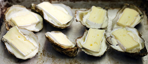 Recipe for Oyster Brie