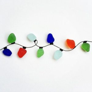 Sea Glass Christmas Decorations