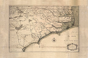 Historic NC Coastal Map