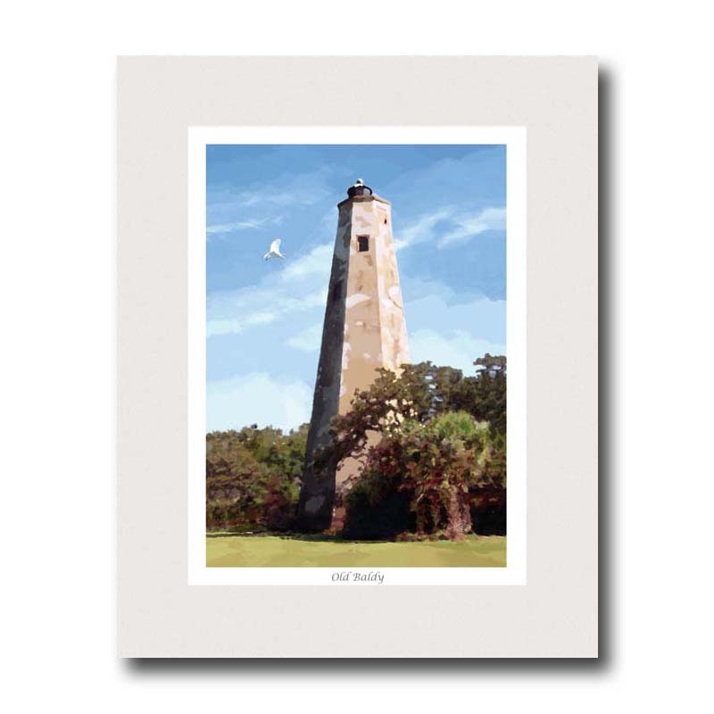 Old-Baldy Print
