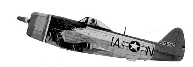 Army Air Corps P-47D Thunderbolt