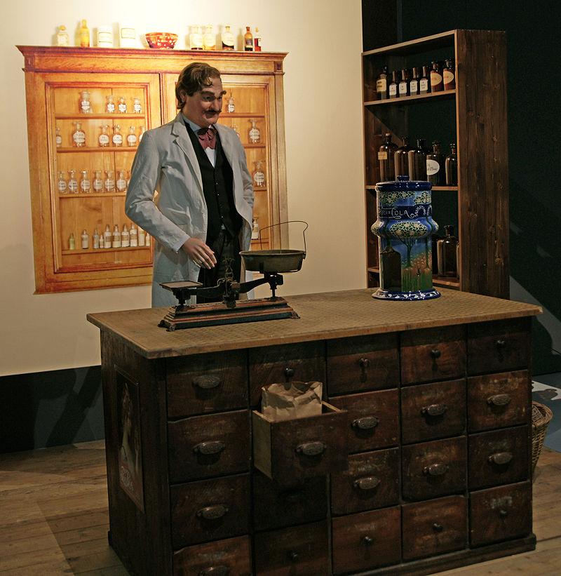 Caleb Bradham inventor of Pepsi Cola