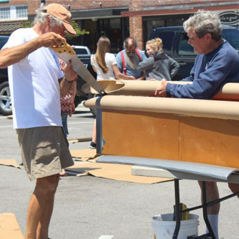 Beaufort Cardboard Boatbuilding Challenge