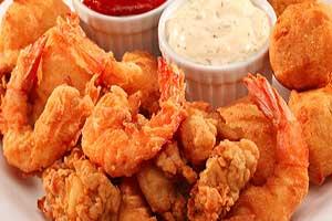 Crispy, Crunchy Fried Shrimp
