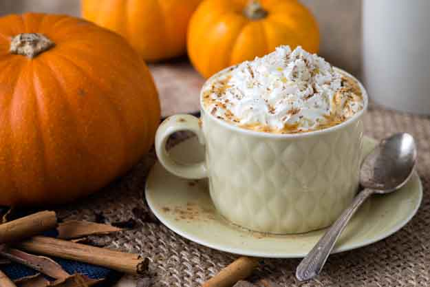 Hot Pumpkin Spiced Drink