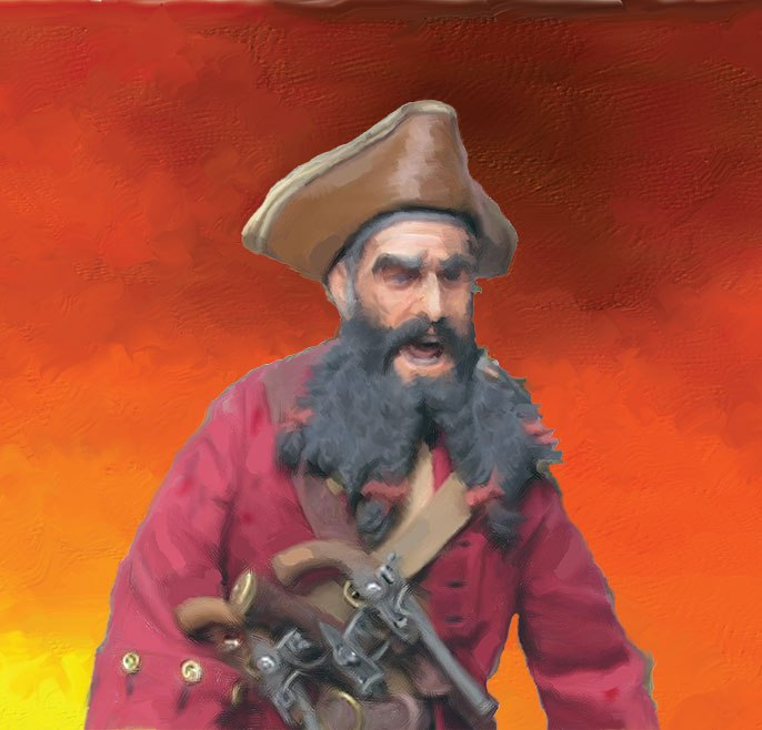 Pirates-of-the-Carolinas-Blackbeard-The-Pirate
