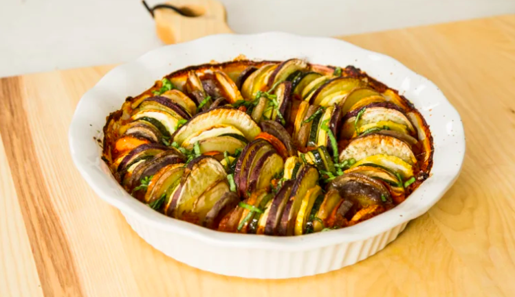 Holiday Wreath Ratatouille