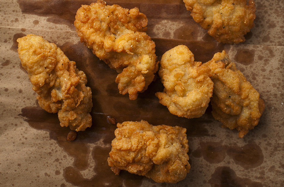 Recipe Crusty Fried Oysters