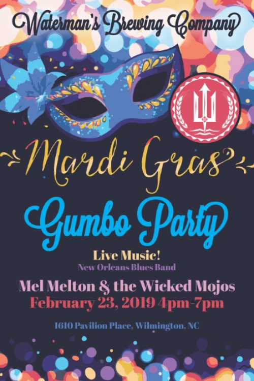 Mardi Gras Gumbo Party