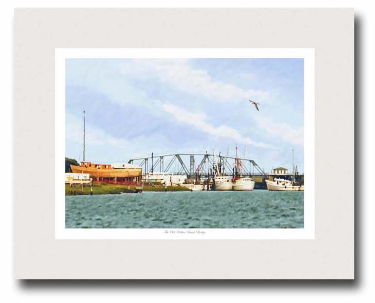 Old-Holden-Beach-Bridge-By Miller-Pope