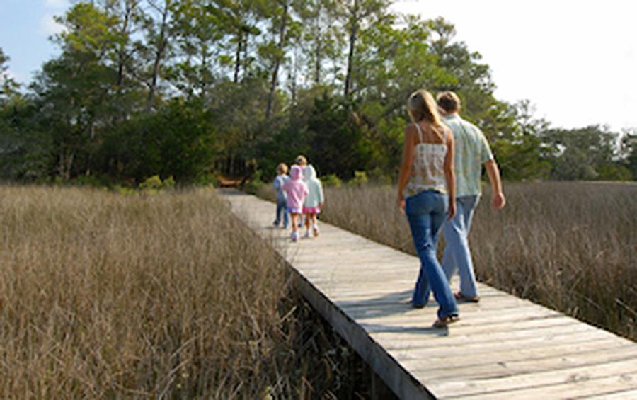 Kent Mitchell Nature Trail Bald Head Island North Carolina