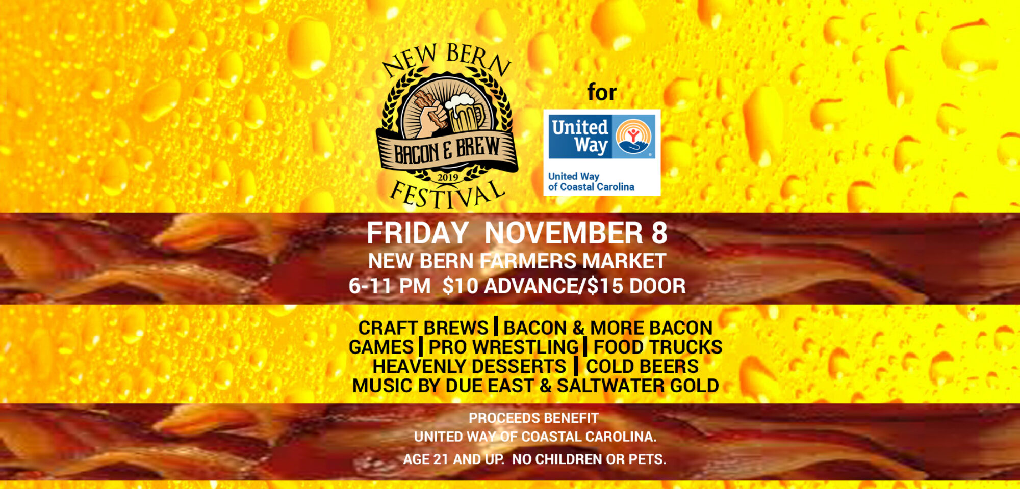 Bacon and Brew Festival New Bern NC