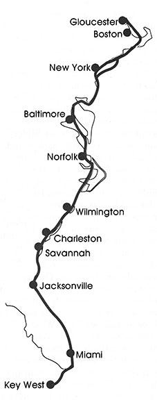 Intra-Coastal-Waterway