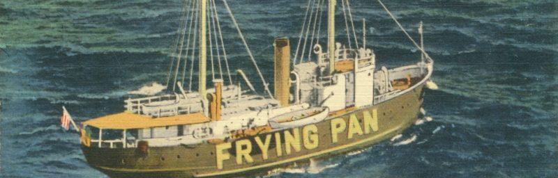 fryingpan lightship Frying Pan Shoals off Southport North Carolina